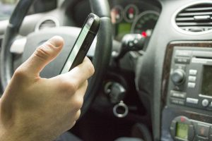 The Top Ten Driving Distractions...Making A Phone Call