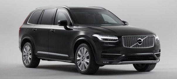 New Armoured Volvo Can Withstand Bullets and Explosives