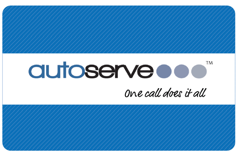 Autoserve Guaranteed Maintenance Driver Card