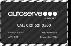 Autoserve Fleet Card - Driver Card